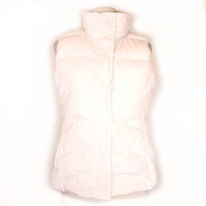 J. Crew Down feather fleece quilted puffer vest